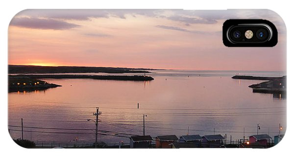 Sunrise Port Aux Basque, Newfoundland  IPhone Case