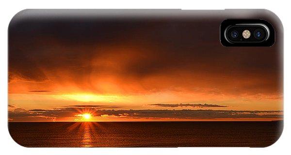 Sunrise Rays IPhone Case