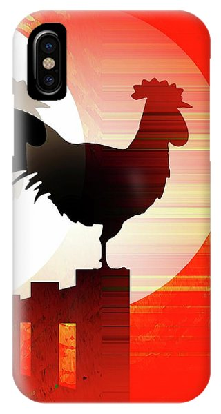 IPhone Case featuring the mixed media Sunrise Reflection by David Manlove