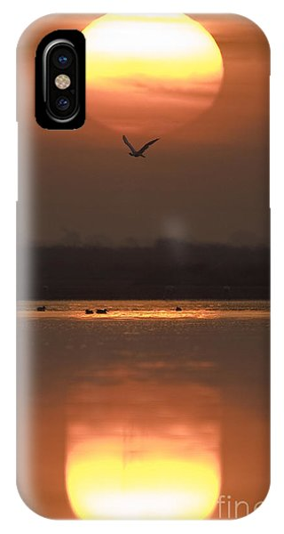 Sunrise Reflection IPhone Case