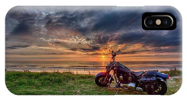 Sunrise Ride IPhone Case