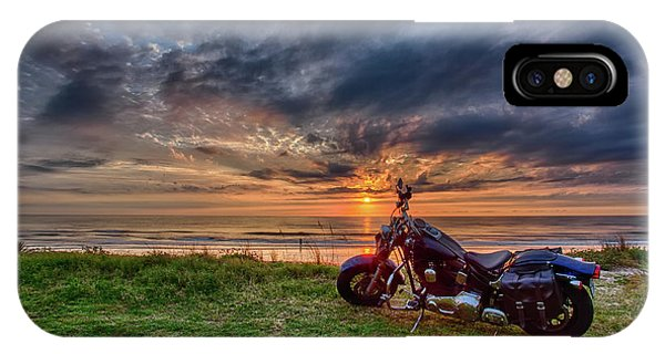 Sunrise Ride IPhone Case