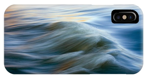 Waves iPhone Case - Sunrise Ripple by Mike  Dawson