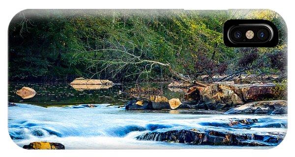 Sunrise River IPhone Case