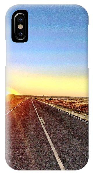 Sunrise Road IPhone Case