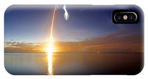 Sunrise Rocket IPhone Case
