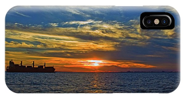 Sunrise Sail IPhone Case