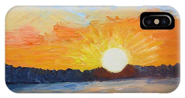 Sunrise At Pine Point IPhone Case