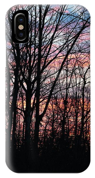Sunrise Silhouette And Light IPhone Case