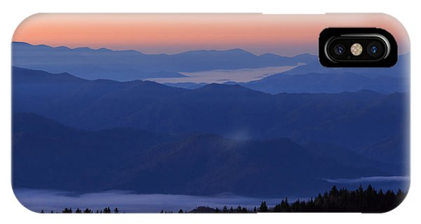 IPhone Case featuring the photograph Sunrise Silhouette by Paul Schultz