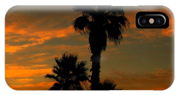 Sunrise Silhouettes IPhone Case