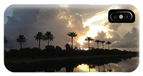 Sunrise Storm IPhone Case
