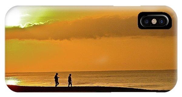 Sunrise Stroll IPhone Case