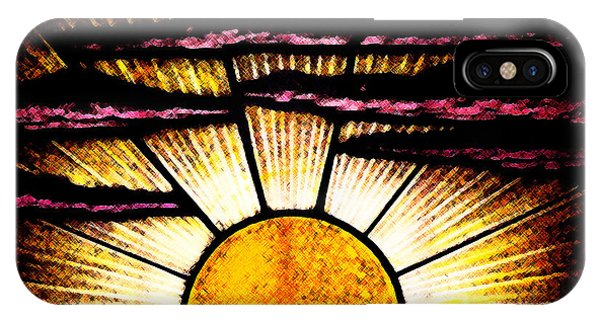 IPhone Case featuring the photograph Sunrise Sunset by Linda Shafer