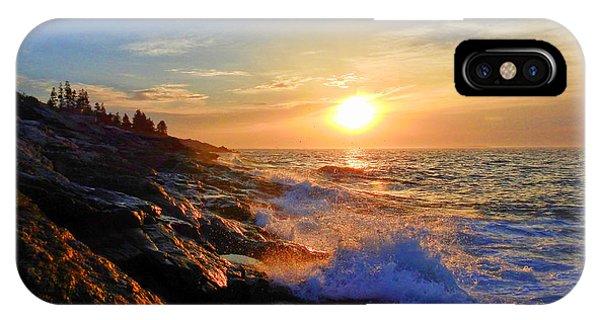 Sunrise Surf IPhone Case