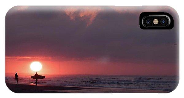 Sunrise Surfer IPhone Case