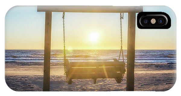 Sunrise Swings IPhone Case