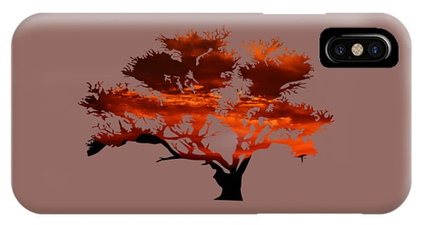 Sunrise Tree 2 IPhone Case