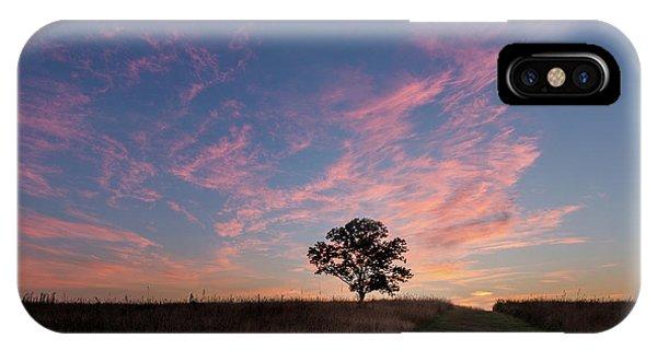 Sunrise iPhone Case - Sunrise Tree 2016 Square by Bill Wakeley