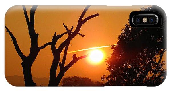 Sunrise Trees IPhone Case