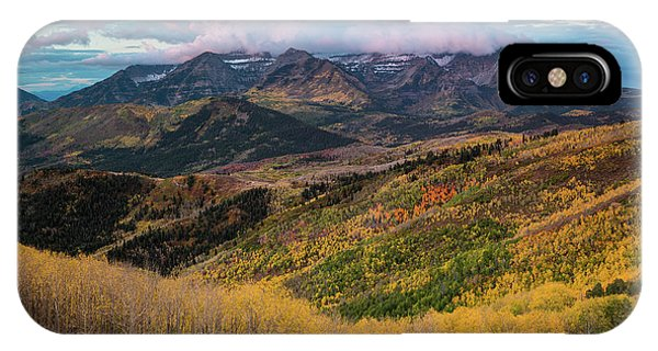 Sunrise View Of Mount Timpanogos IPhone Case