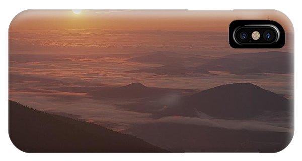 Sunrise View Of The Adirondacks IPhone Case