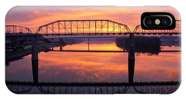 Sunrise Walnut Street Bridge 2 IPhone Case