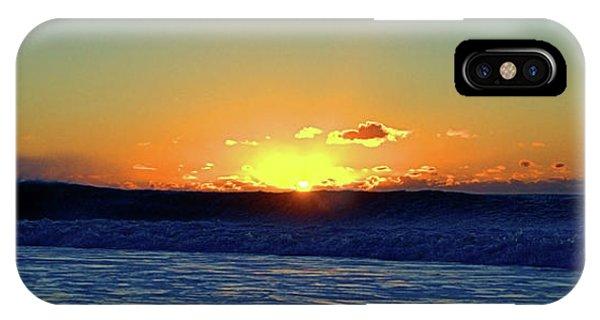 Sunrise Wave I I I IPhone Case