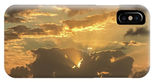 Sun's Rays IPhone Case