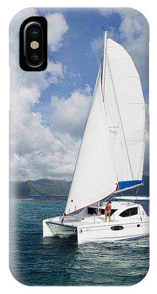Sunsail Catamaran IPhone Case