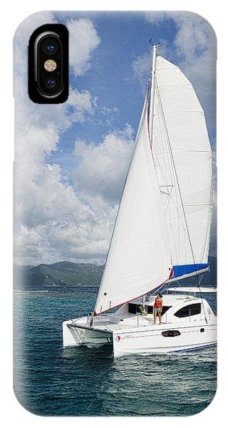 Sunsail Catamaran IPhone Case