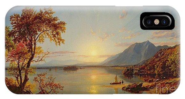 Sunset  Lake George IPhone Case