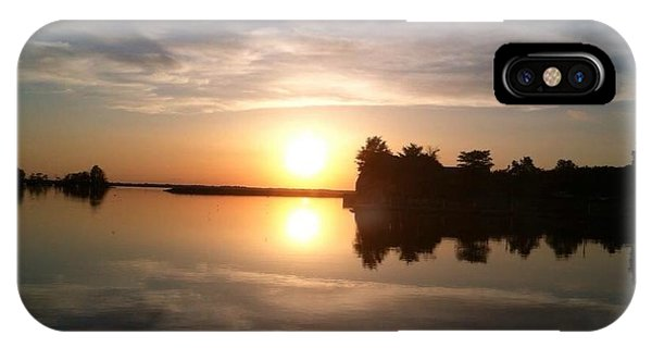 Sunset @ Rend Lake IPhone Case