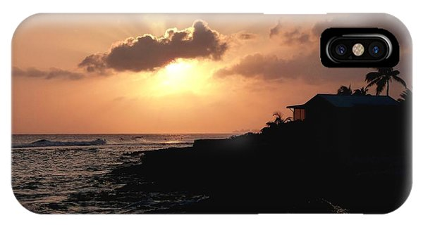 Sunset @ Spotts IPhone Case
