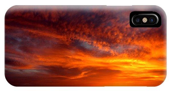 Adam Jones iPhone Case - Sunset by Adam Jones