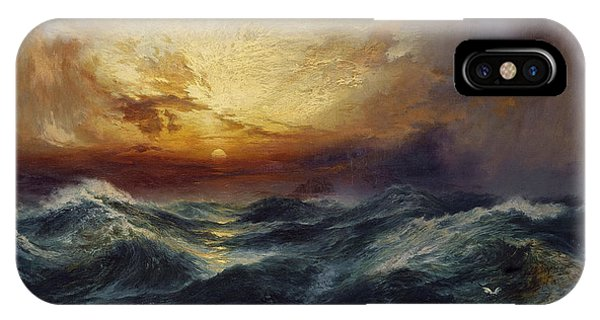 Sunset After A Storm IPhone Case