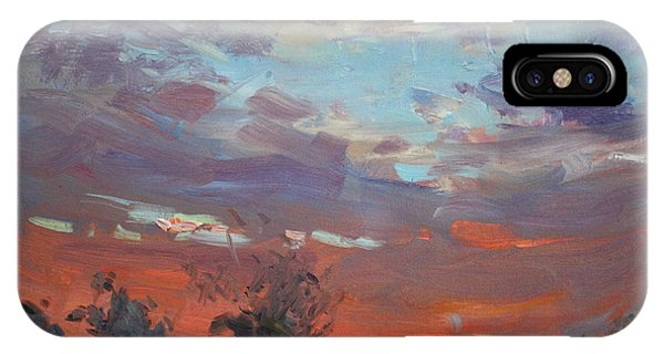 Georgetown iPhone Case - Sunset After Thunderstorm by Ylli Haruni
