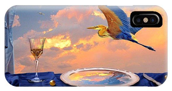 IPhone Case featuring the digital art Sunset by Alexa Szlavics