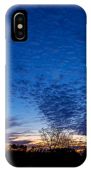 Sunset And Moon Sliver IPhone Case