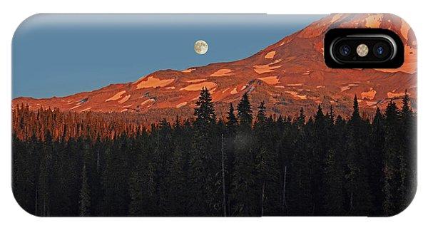 Sunset And Sunrise At Mt Adams IPhone Case