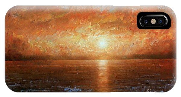 Laguna Beach iPhone Case - Sunset by Arthur Braginsky