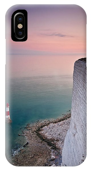 Sunset At Beachy Head IPhone Case