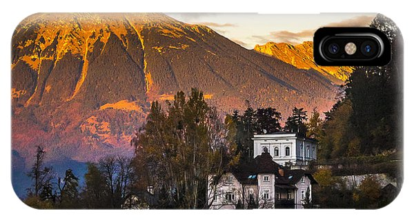 Sunset At Bled IPhone Case
