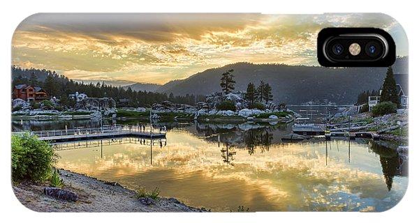 Sunset At Boulder Bay IPhone Case
