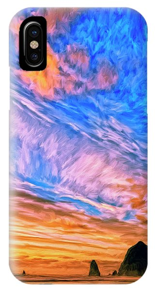 Sunset At Cannon Beach IPhone Case