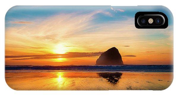 Sunset At Cape Kiwanda IPhone Case