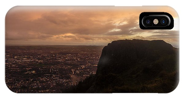 Sunset At Cavehill IPhone Case