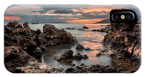 Sunset At Charley Young Beach IPhone Case