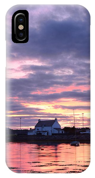 Sunset At Clachnaharry IPhone Case