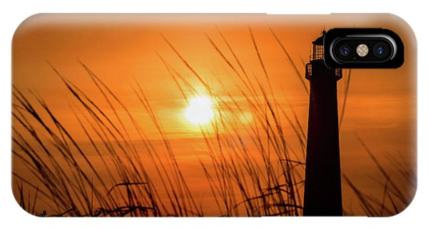 Sunset At Cm Lighthouse IPhone Case